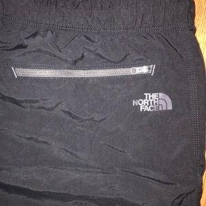 North Face men's black athletic sports shorts